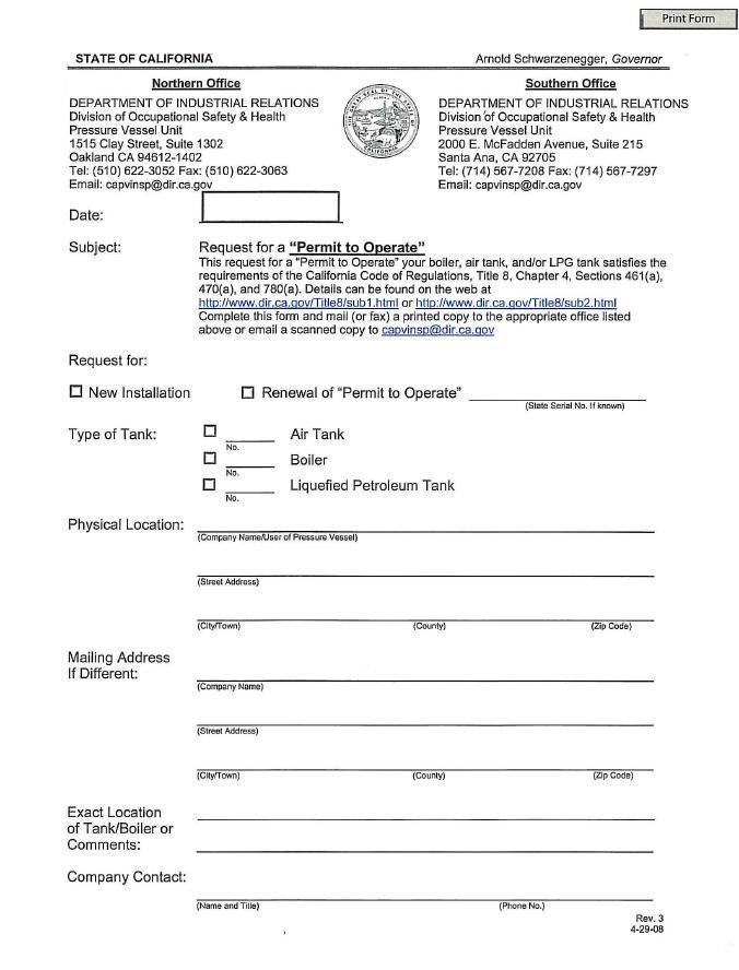 Cal OSHA Safety Program Regulatory Overview