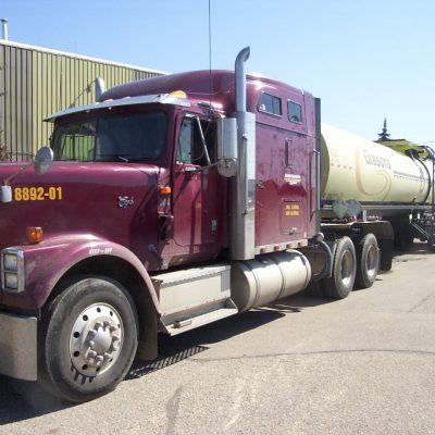 semi truck DOT driver training