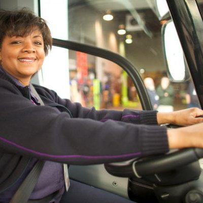 defensive driving woman
