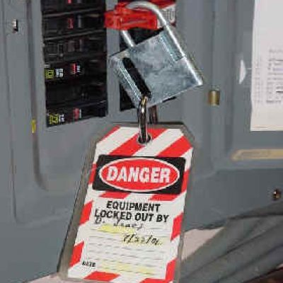 electrical safety lockout tagout