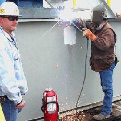 firewatch hot welding work