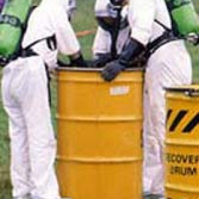 hazmat barrel cleanup