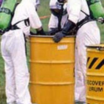 hazmat barrel cleanup