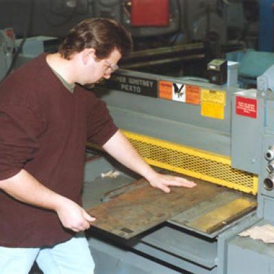 machine guard stamping