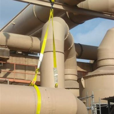 large pipe rigging safety
